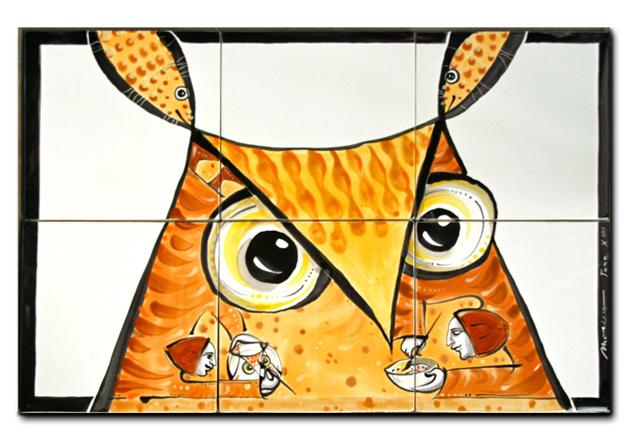 Mural by Marino Moretti
