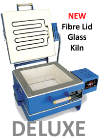 Clamshell Paragon glass kiln