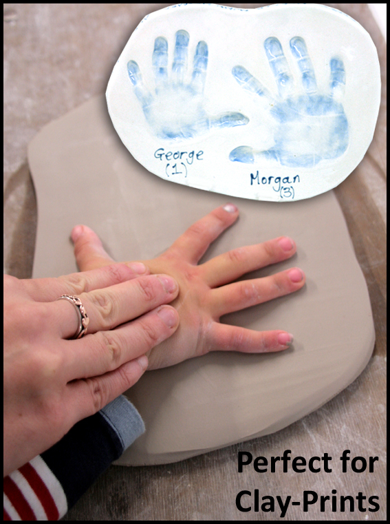 Soft Clay for handprinting