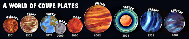 Coupes planets