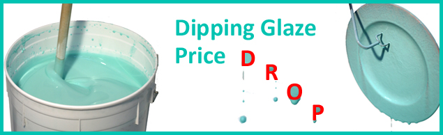 Dipping Glaze price dropped