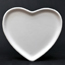 Bisque Ceramic Heart shapes