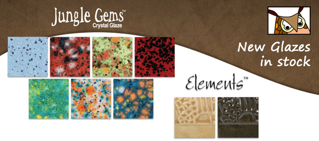 new glazes from mayco