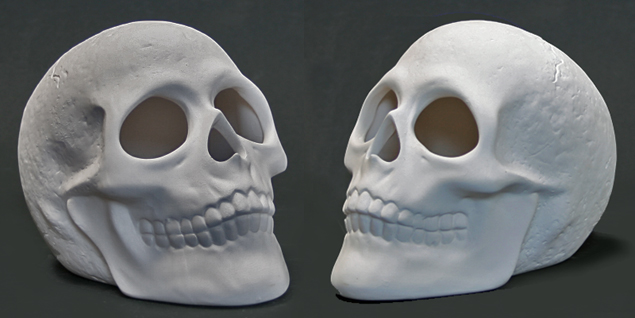 Skull bisque