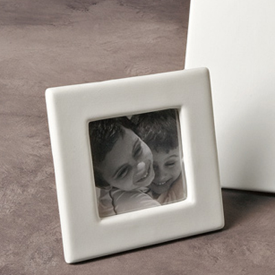 Hobby Ceramicraft Ceramic Bisque Frames Curved Top