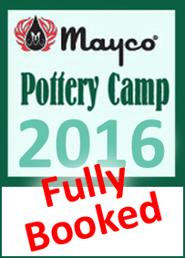 Mayco pottery camp 2016