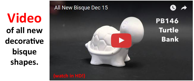 New bisque shapes