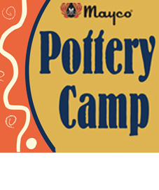 mayco pottery camp