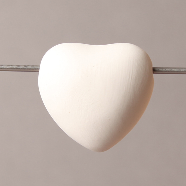 Big heart bead 40mm BI6026
