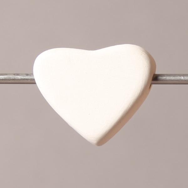 Cupid bead heart 20mm BI6027