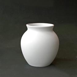 Round Vase with Lip 12cm Tall CX0713