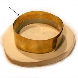 Brass Shim (mould surround) HC221