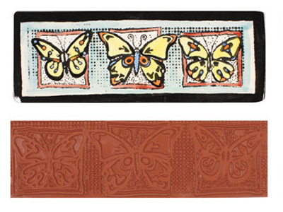 Butterfly Stamp MAT121