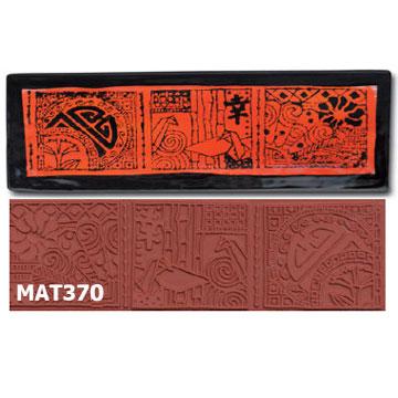 Asian Influence Stamp MAT370