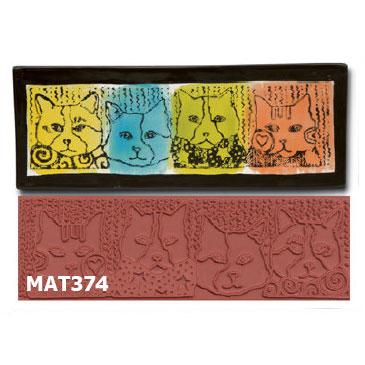 Design Cats Stamp MAT374