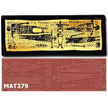Totem Blanket Stamp MAT379