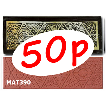 Triangles Stamp MAT390