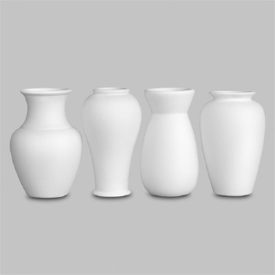 4 Small Vases 10cm MB1026