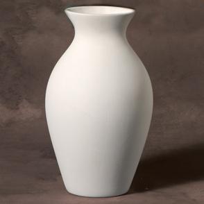Unpainted Ceramic Bisque Vases