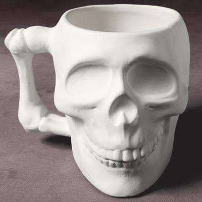 Skull Mug 9.5cm Tall MB1252