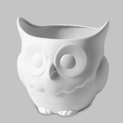 Owl Planter 16cm Tall x 16.5cm Wide MB1331