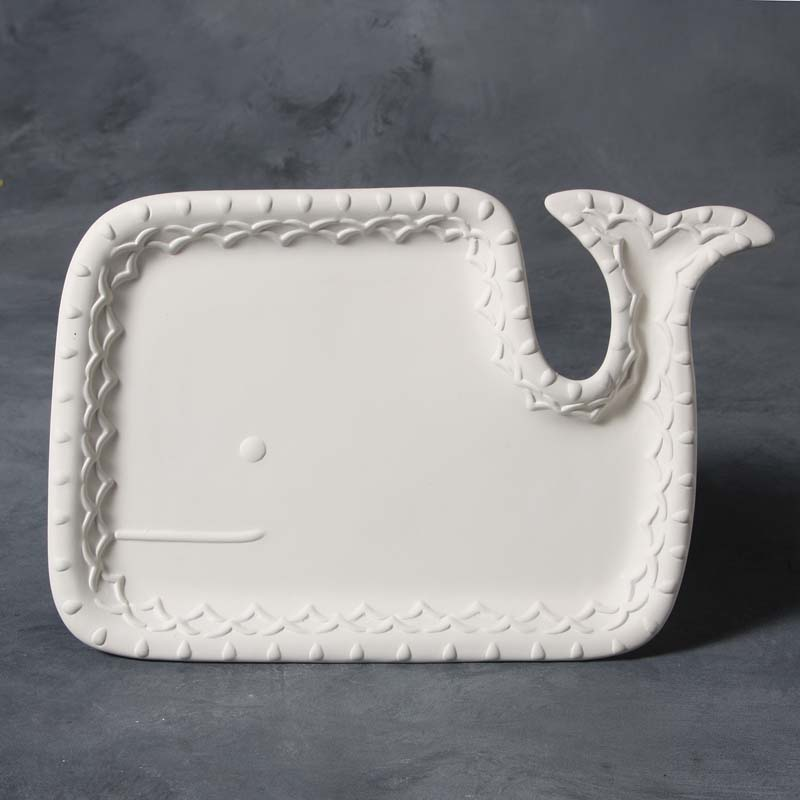 Whale Plate Lg MB1429