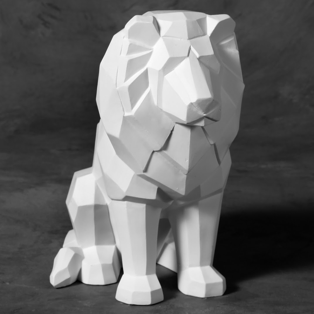 Lion Faceted MB1476
