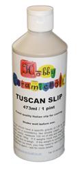 500ml Bottle of White Slip TUSCAN-500ml