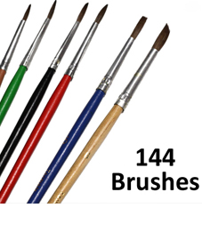 Brush set cheap
