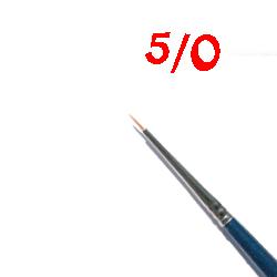 Detail Brush very fine No. 5-0 CB250