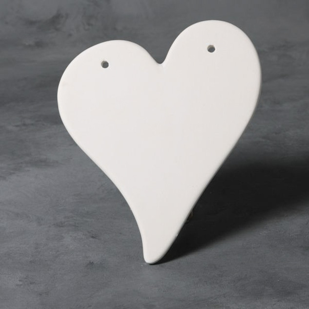 Heart Plaque 20 x 16cm MB0979