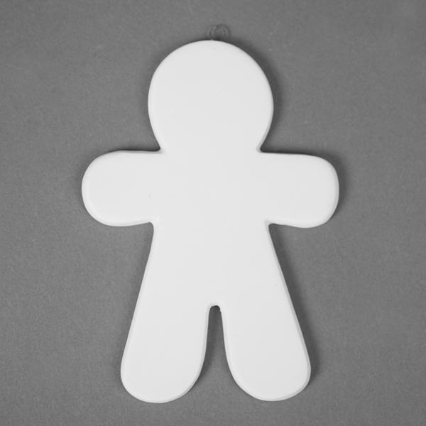 Gingerbread Boy Hanger 14cm CKD50