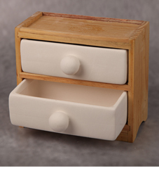 Little bisque drawers