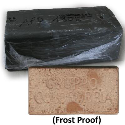 Terracotta Clay Grogged 25kilo AFD110-1