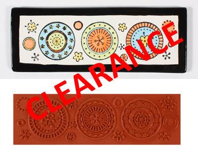 Large Deco Circles Stamp MAT345