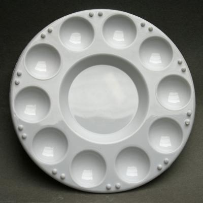 10 hole plastic palette HC099