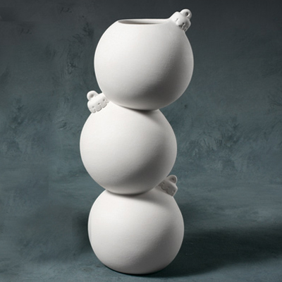 Stacked bauble vase  MB1349