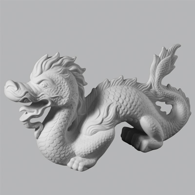 Chinese Dragon 10cm Wide x 23cm High x 38cm Long MB1359