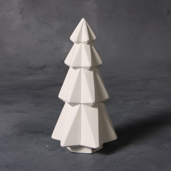 Faceted Christmas Tree 18cm MB1497