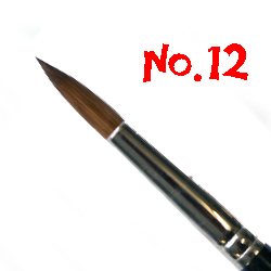 Pointed Round Sable No.12 MHC3212