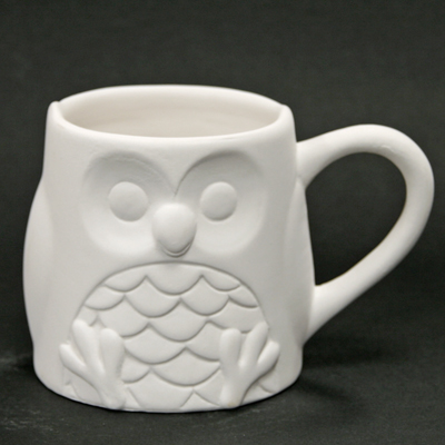 Owl Mug 7.5cm CX5061