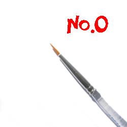 Round Brush No.0 RB100