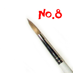 Round Brush No.8 RSR8