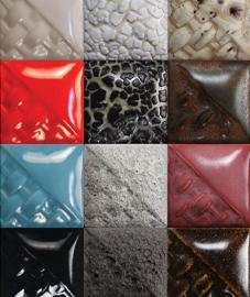 Stoneware glazes