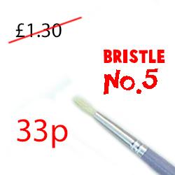 Round Bristle No.5 SGBR5