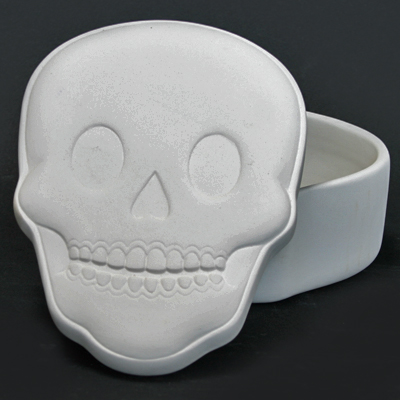 Sugar Skull Box 14cmL x 5.5cmT MB1382