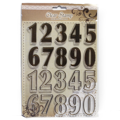 Number stamps large FERC4