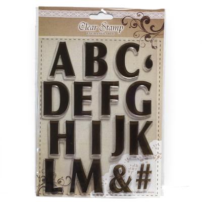 Letter stamps A-M FERC1