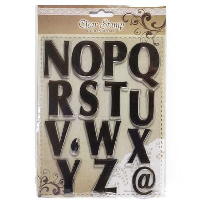 Letter stamps N-Z FERC2