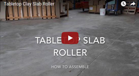 Slab Roller for clay